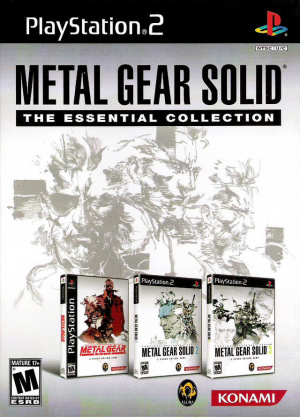Metal Gear Solid : The Essential Collection sur PS2