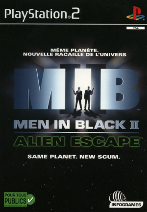 Men in Black II : Alien Escape sur PS2
