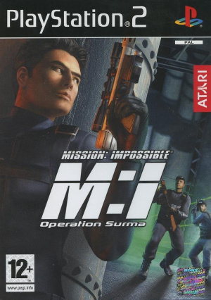 Mission : Impossible : Operation Surma sur PS2