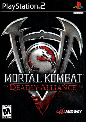 Mortal Kombat : Deadly Alliance sur PS2