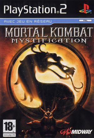 Mortal Kombat Mystification sur PS2