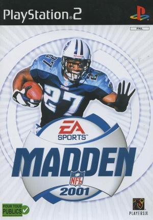 Madden NFL 2001 sur PS2