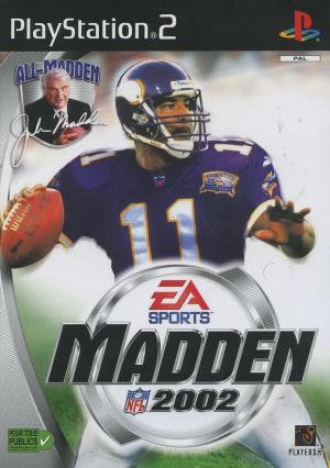 Madden NFL 2002 sur PS2
