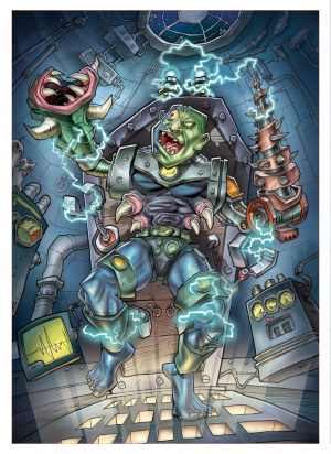 GC 2008 : Images de Monster Lab