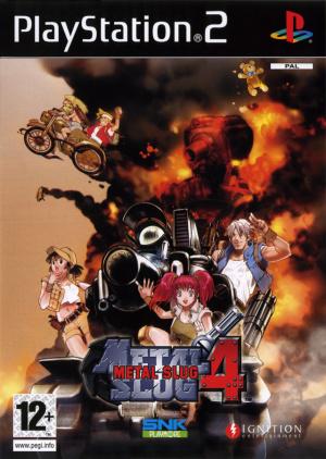 Metal Slug 4 sur PS2