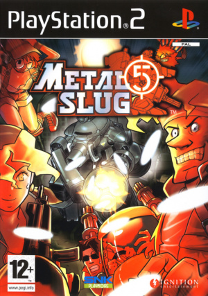 Metal Slug 5 sur PS2