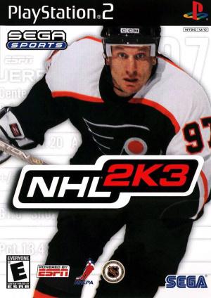 NHL 2K3 sur PS2