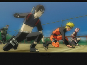 GC 2009 : Images de Naruto Shippuden : Ultimate Ninja 5