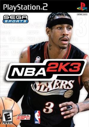NBA 2K3 sur PS2