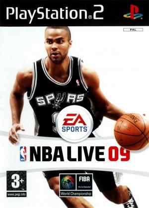 NBA Live 09 sur PS2