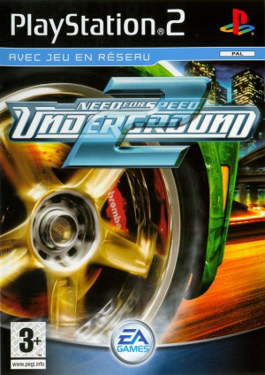 Need for Speed Underground 2 sur PS2