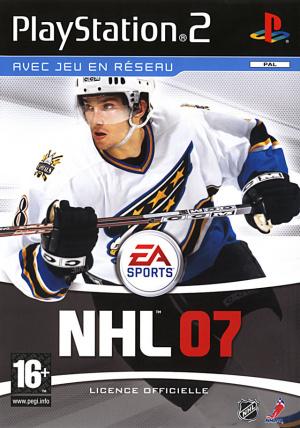 NHL 07 sur PS2