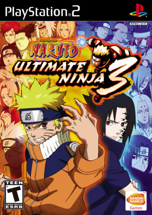 Naruto : Ultimate Ninja 3 sur PS2