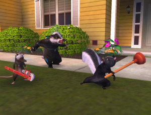 Images : Over The Hedge sort de son terrier