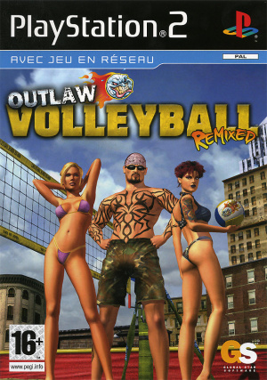Outlaw Volleyball Remixed sur PS2