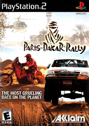paris dakar rally sur playstation 2. Black Bedroom Furniture Sets. Home Design Ideas