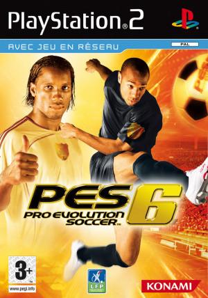 Pro Evolution Soccer 6 sur PS2