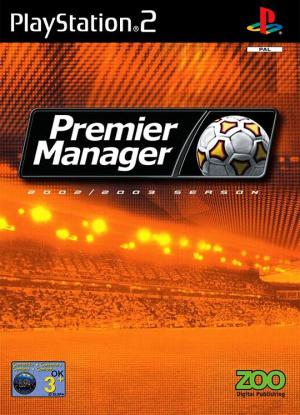 Premier Manager 2002-2003 sur PS2