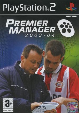 Premier Manager 2003-04 sur PS2