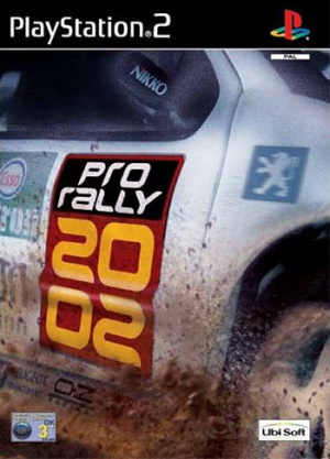 Pro Rally 2002 sur PS2