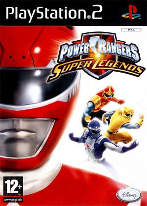 Power Rangers : Super Legends sur PS2