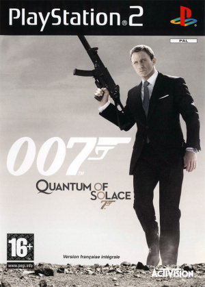007 : Quantum of Solace sur PS2