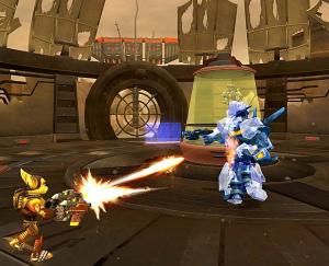 Ratchet : Gladiator sort l'artillerie