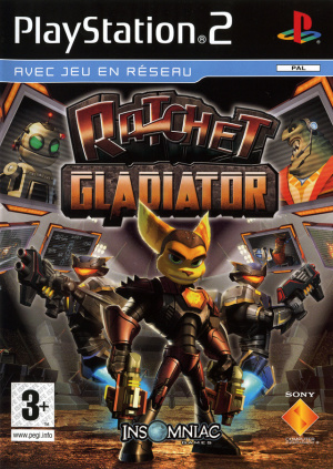 Ratchet : Gladiator sur PS2