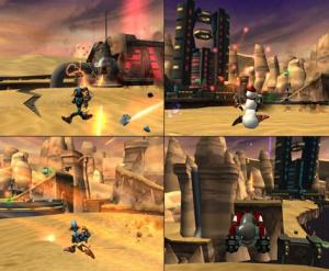 Ratchet & Clank 3 déboulonne sur le web