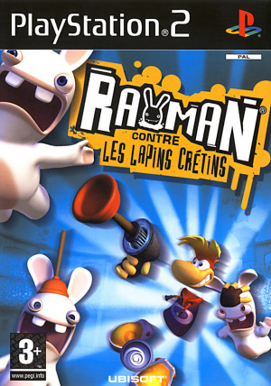 Rayman contre les Lapins Crétins sur PS2