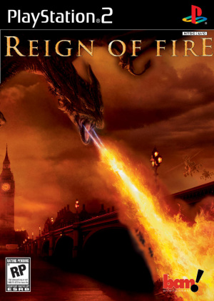 Reign of Fire sur PS2