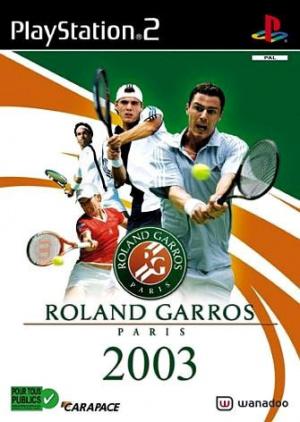 Roland Garros 2003 sur PS2