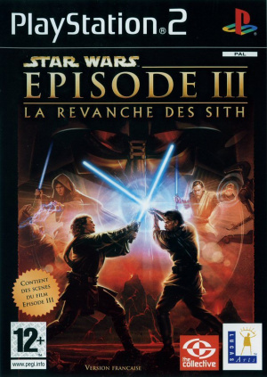 Star Wars Episode III : La Revanche des Sith sur PS2