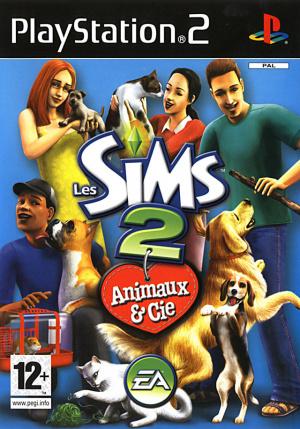 Les Sims 2 : Animaux & Cie sur PS2