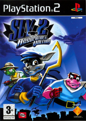 Sly 2 : Association de Voleurs sur PS2
