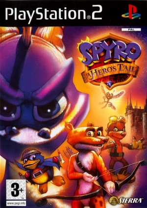 Spyro : A Hero's Tail sur PS2