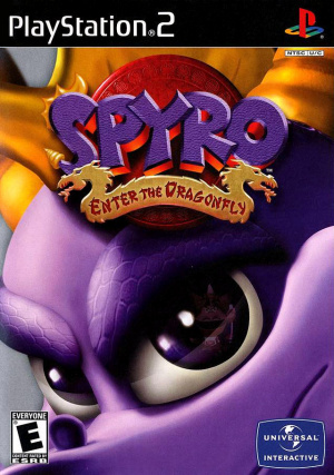 Spyro : Enter the Dragonfly sur PS2