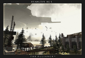 Stargate SG-1 : The Alliance - Playstation 2