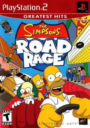 The Simpsons : Road Rage sur PS2