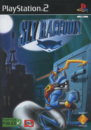 Sly Raccoon sur PS2
