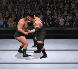 WWE Smackdown! Vs. Raw monte sur le ring