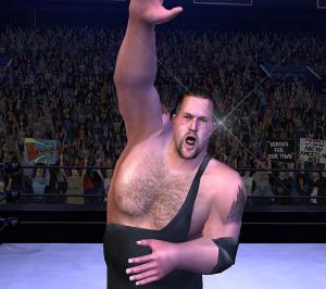 WWE Smackdown! Vs. Raw monte sur le ring