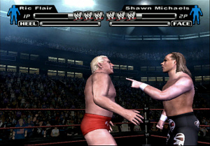 WWE Smackdown! Vs. Raw sur le ring