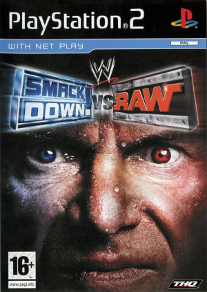 WWE Smackdown! vs Raw sur PS2