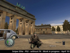 Sniper Elite - Playstation 2