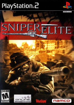 Sniper Elite sur PS2