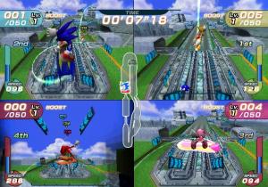 Sonic Riders en images