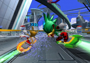 Images : Sonic Riders en 8 images