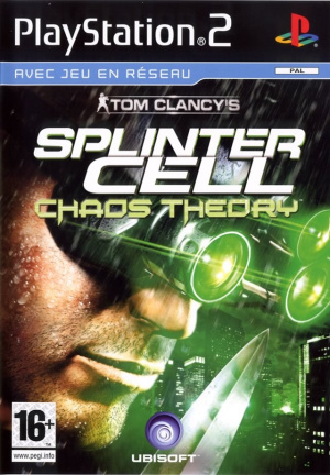Splinter Cell Chaos Theory sur PS2