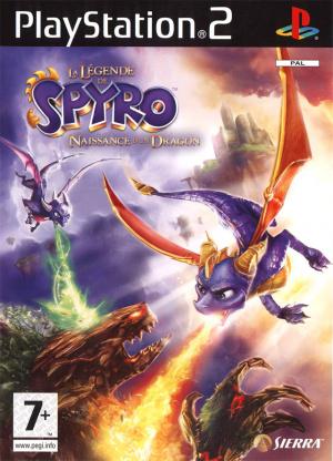 La Légende de Spyro : Naissance d'un Dragon sur PS2